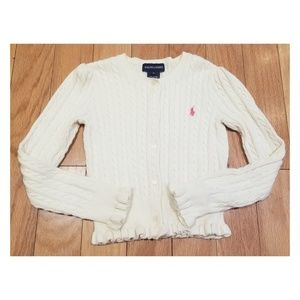 Ralph Lauren Cable Knit Cardigan